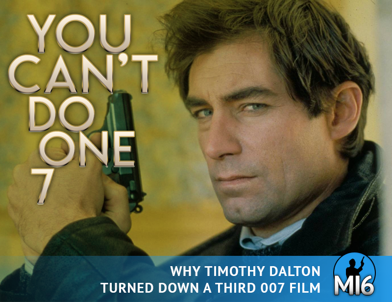Why Timothy Dalton Turned Down A Third Bond