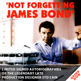 Not Forgetting James Bond - Syd Cain Autobiography