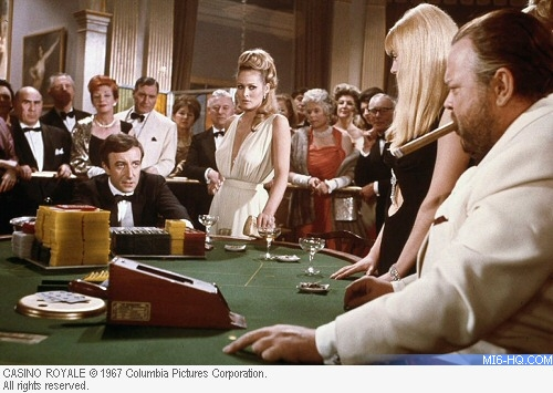 саундтрек к 007 казино рояль