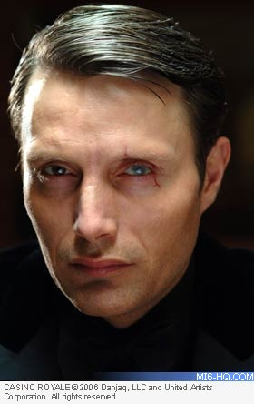 Le Chiffre Mads Mikkelsen Villains MI6 The Home