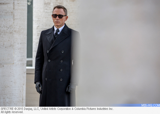 Daniel Craig on location in Rome for