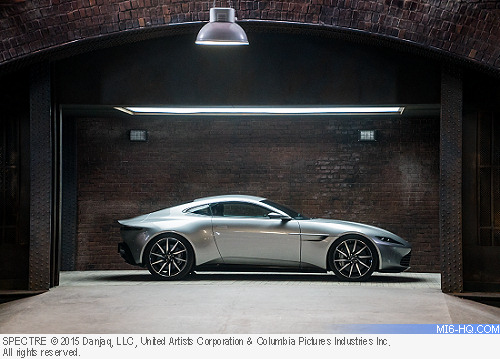 Aston Martin DB10 designed for 007