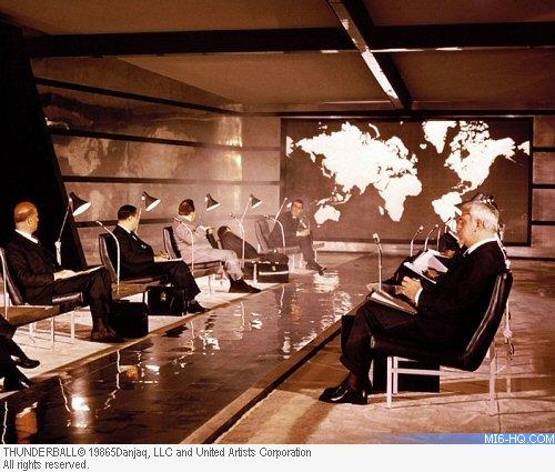 James Bond Meeting Room