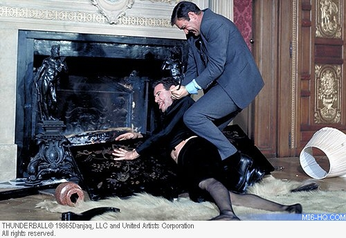 MI6 :: Thunderball (1965) :: James Bond 007