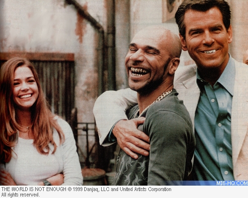 Denise Richards, Goldie and Pierce Brosnan