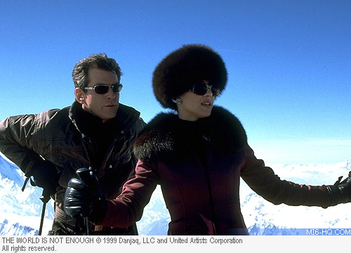 The last time Bond visited the alps was for The World Is Not Enough