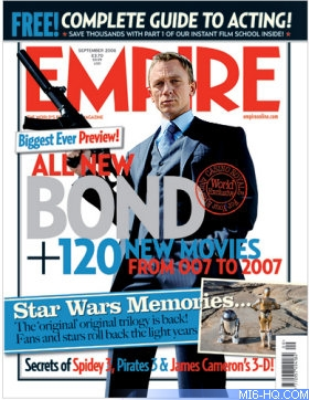 Casino Royale features on latest Empire magazine front cover ...