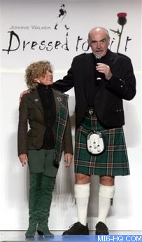 Sir Sean Connery Is Licenced To Kilt In New York Pictures