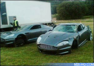 Three Aston Martin DBS Cars Crashed For Casino Royale Filming - Aston martin casino royale