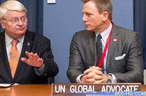 UN chief appoints actor Daniel Craig as global mine action advocate
