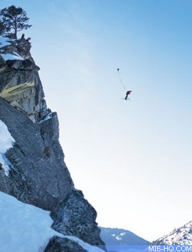 Classic Bond stunt provides the inspiration for a new extreme sport
