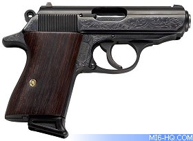 Special Limited Edition Walther Ppk Launched To Celebrate