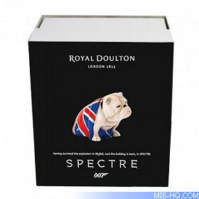 Royal Doulton No Time To Die Edition James Bond 007 Jack The Bulldog Pre Order