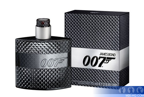 A new fragrance for men will be launched next month to celebrate 007's fifty years on the silver ...