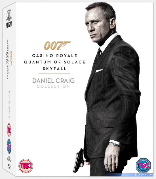 A set containing all three of Daniel Craig's 007 films will be ...