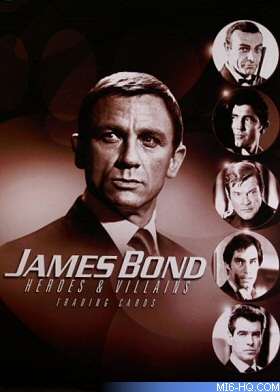 You Only Live Twice James Bond movie Trading cards 007 OHMSS