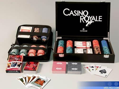 james bond casino royale deluxe poker set