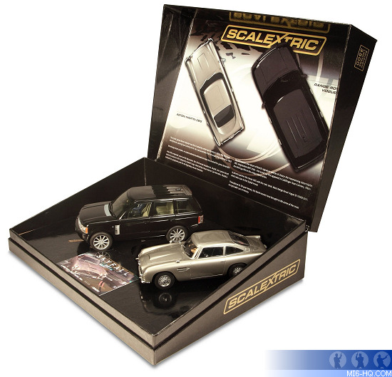 Limited Edition Cars: Limited Edition Skyfall Scalextric Cars
