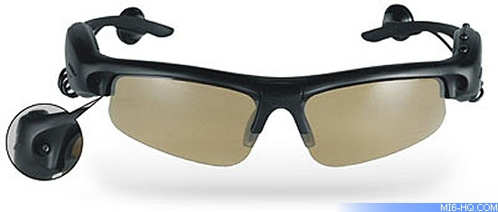 Spycam Video MP3 Camera Sunglasses Multi-function sunglasses - shoot video 405a63387b