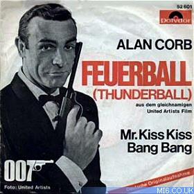 Mi6 Thunderball 1965 James Bond 007