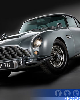 Aston Martin Db5 Q Branch Mi6 The Home Of James